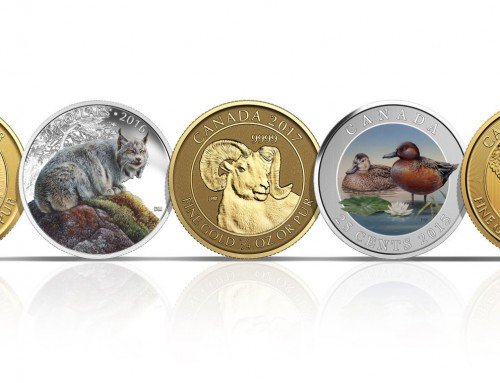 HERE ARE SOME DESIGNS I CREATED FOR THE ROYAL CANADIAN MINT If you would like to order please go to the Royal Canadian Mint online store.