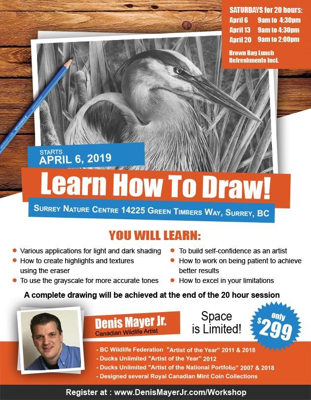 Drawing Workshop - Denis Mayer Jr.