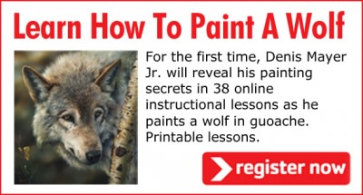 Learn How To Paint A Wolf